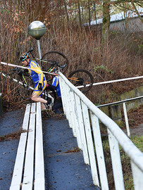 Brembs beim Cyclocross-Rennen in Gaustadt-Bamberg
