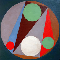Ellen Roß, konkret, konstruktivistisch, geometrisch, squares, circles