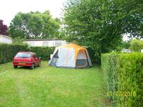 Terrains pour tentes et caravane