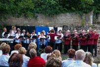 08.09.2013 Tag des offenen Denkmals und 19. Chortreffen auf Schloss Beichlingen...