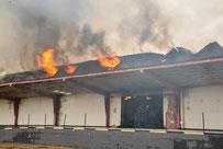 06.09.2014 Strohlagerhallenbrand