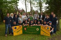 30.04.2014 Burschenverein startete mit Maifeuer in das Kirmeswochenende...