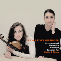 Violin sonatas by German sisters Lea and Esther Birringer
