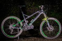 foto de motor de bicicleta eléctrica