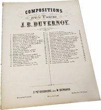 Ноктюрн Es-dur, Жан Батист Дювернуа, ноты для фортепиано