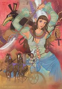 聖柄さぎり/さぎりん工房 エジプト神話