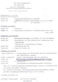 Bild: Teichler Seeligstadt Chronik 1988