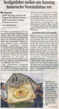 Bild: Teichler Seeligstadt Chronik 2010