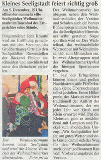 Bild: Seeligstadt Chronik 2015