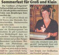 Bild: Teichler Seeligstadt Chronik 2009