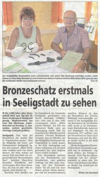 Bild: Teichler Seeligstadt Chronik 2016