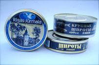 ШПРОТЫ ВМАСЛЕ КРУПНЫЕ (sprats) Русское продовольствие поставка  lausanne russe import