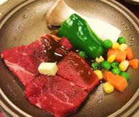 焼きステーキ画像