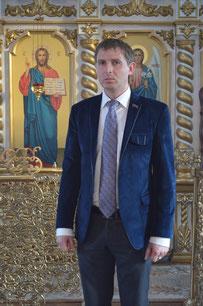 Ответственные за молодёжную работу на приходе: депутат Совета Темрюкского городского поселения Жулай Евгений