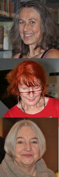 GEDOK-Autorinnen Lea Ammertal, Regine Kress-Fricke, Irmentraud Kiefer