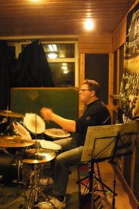 Schlagzeuger Matthias