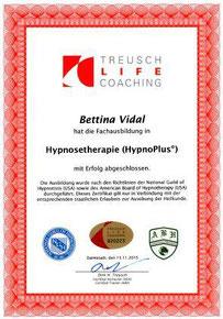 Ausbildungszertifikat HypnoPlus Hypnosetherapie