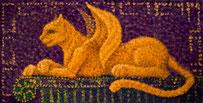 Загадки рыжего Сфинкса, х.м., 20Х35 см., 2009