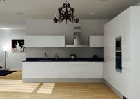 Interior Design Bangkok | High Gloss Kitchen