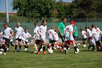 Mobile Fussballschule ovag energie AG Fussballcamp Sandra Minnert