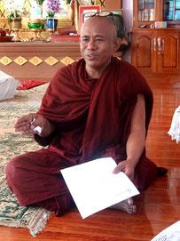 L'abbé du monastère.