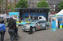 Truck-Tour Leichtathletik WM