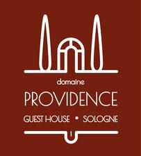 Domaine Providence - Chambres d'hôtes de charme en Sologne, entre les châteaux de la Loire et le Zoo de Beauval - Logo