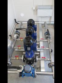 przegląd montaż dostawa zestawów hydrantowych podnoszenia ciśnienia w instalacji hydrantowej