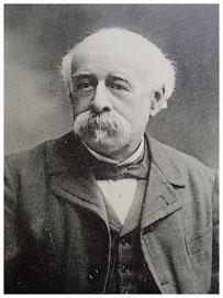 Louis Passy, président de la Société historique de 1901 à 1913