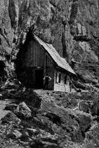 Die alte Wischberghütte