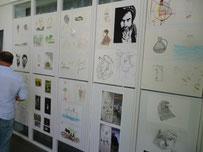 KunstCodes im Baralch-Haus – Präsentation von Werke junger Migranten aus der Erstaufnahmeeinrichtung Schnackenburgsallee
