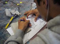 KunstCodes–Präsentation von Werken junger Migranten im Ernst Barlach Haus
