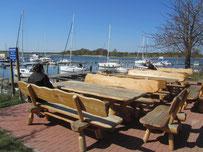 Hafen am Strelasund Marina bei Devin