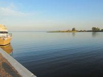 Hafen am Achterwasser Usedom