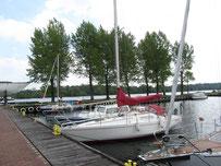 Stettin an der Oder mit dem Boot