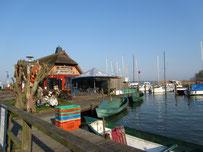 Hafen Dierhagen am Saaler Bodden