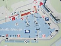 Karlshagen Hafen auf Usedom