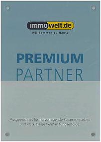Auszeichnung: Premium-Partner von immowelt.de