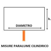 misure paralume cilindrico