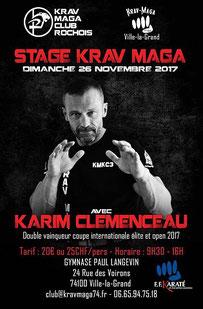 Karim clémenceau club rochois 1