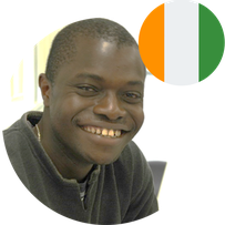 Study in Japan for Africa- Mr KOUAKOU Koffi Valerie- Cote d'Ivoire