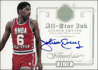 JULIUS ERVING / All-Star Ink - No 14  (#d 1/10)