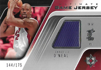 SHAQ O´NEAL / Ultimate Game-Jersey - No. UGJ-SO  (#d 144/175)