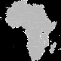 liste des animaux d'Afrique par ordre alphabetique