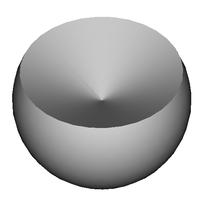 Kugelsektor-Kugelausschnitt