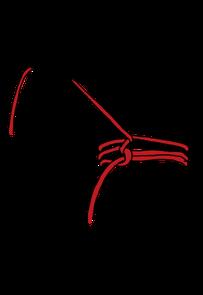 パイプへのロープの縛り方5