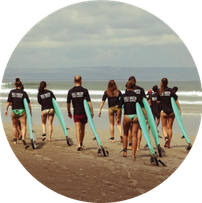 learn to surf seminyak