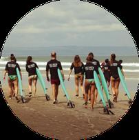 Surfen Surfstunden Surfschule Bali Seminyak