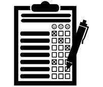 Icon für Konzeption von Fragebogen