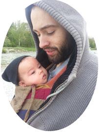 Baby Mei Tai Papa Girasol Mysol München Trageberatung